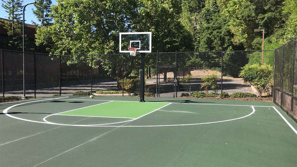 Game Court Asphalt Resurfacing and General Crack Repair Services